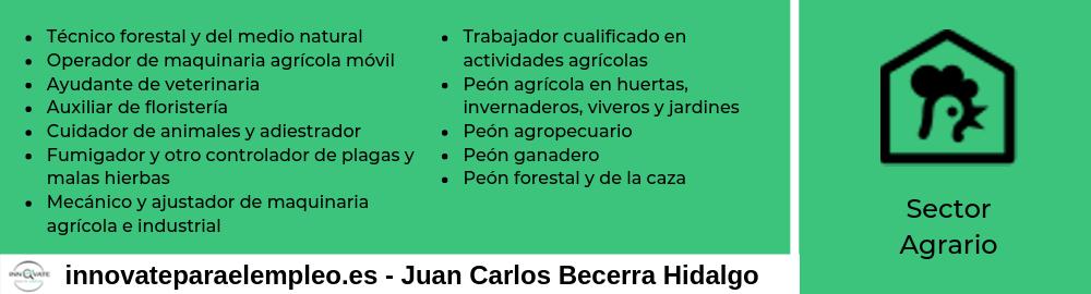 Portales de empleo del sector agrario