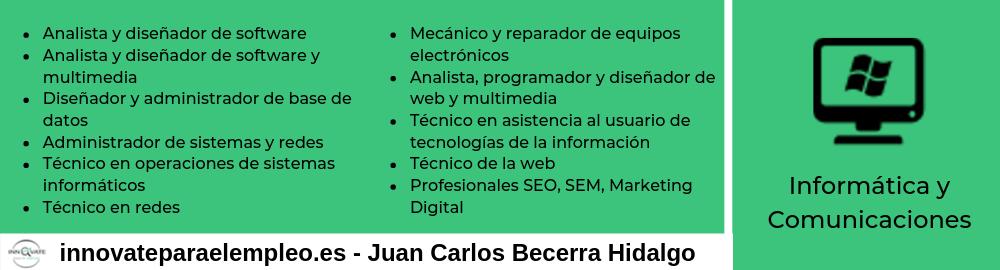 Portales de empleo del sector de la informática