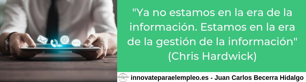 Frases de gestión de información